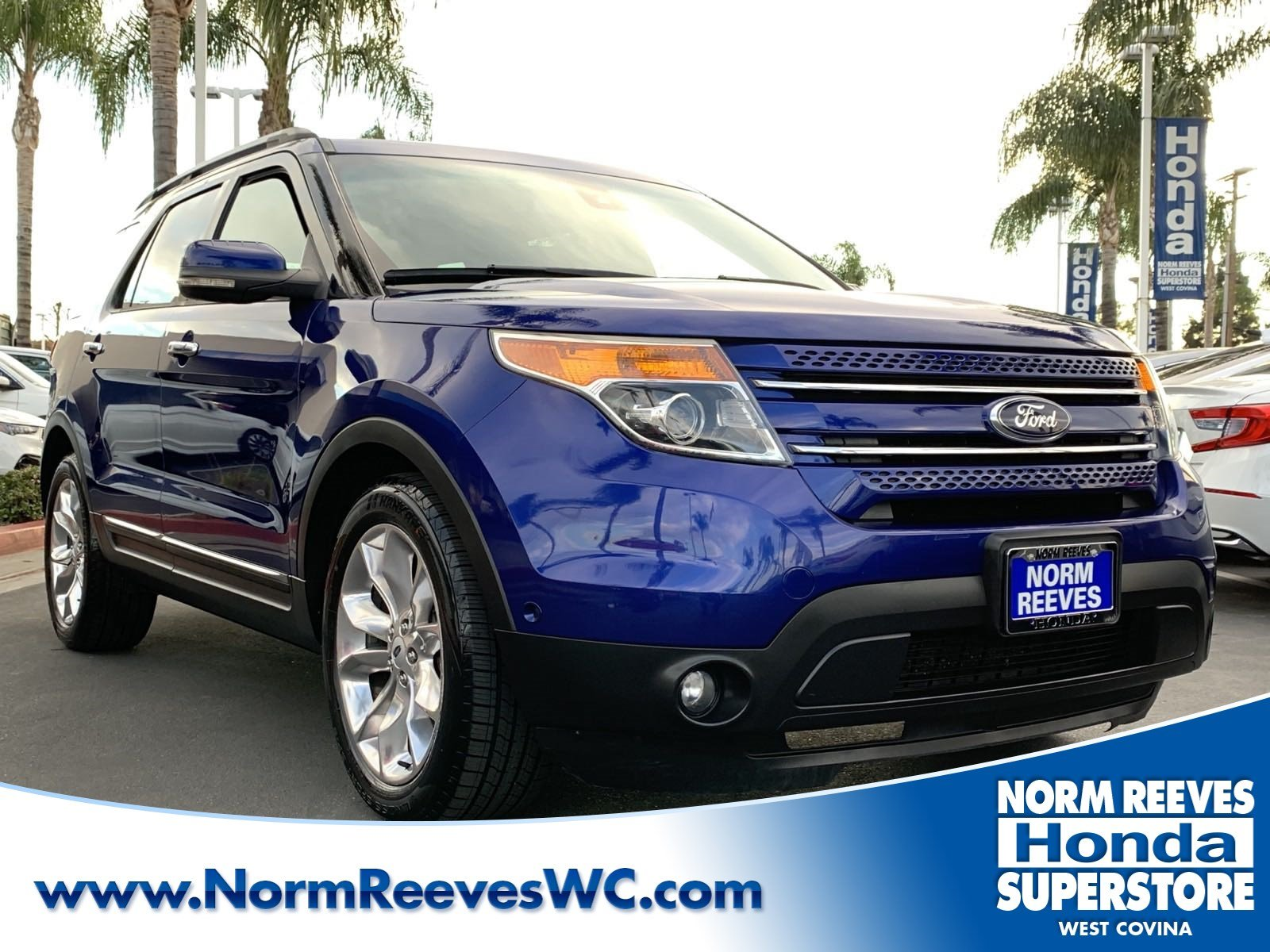 Pre Owned 2013 Ford Explorer Limited Sport Utility In West Covina