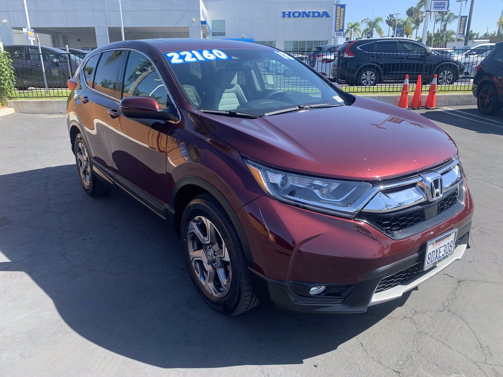 Certified Pre-Owned 2018 Honda CR-V EX