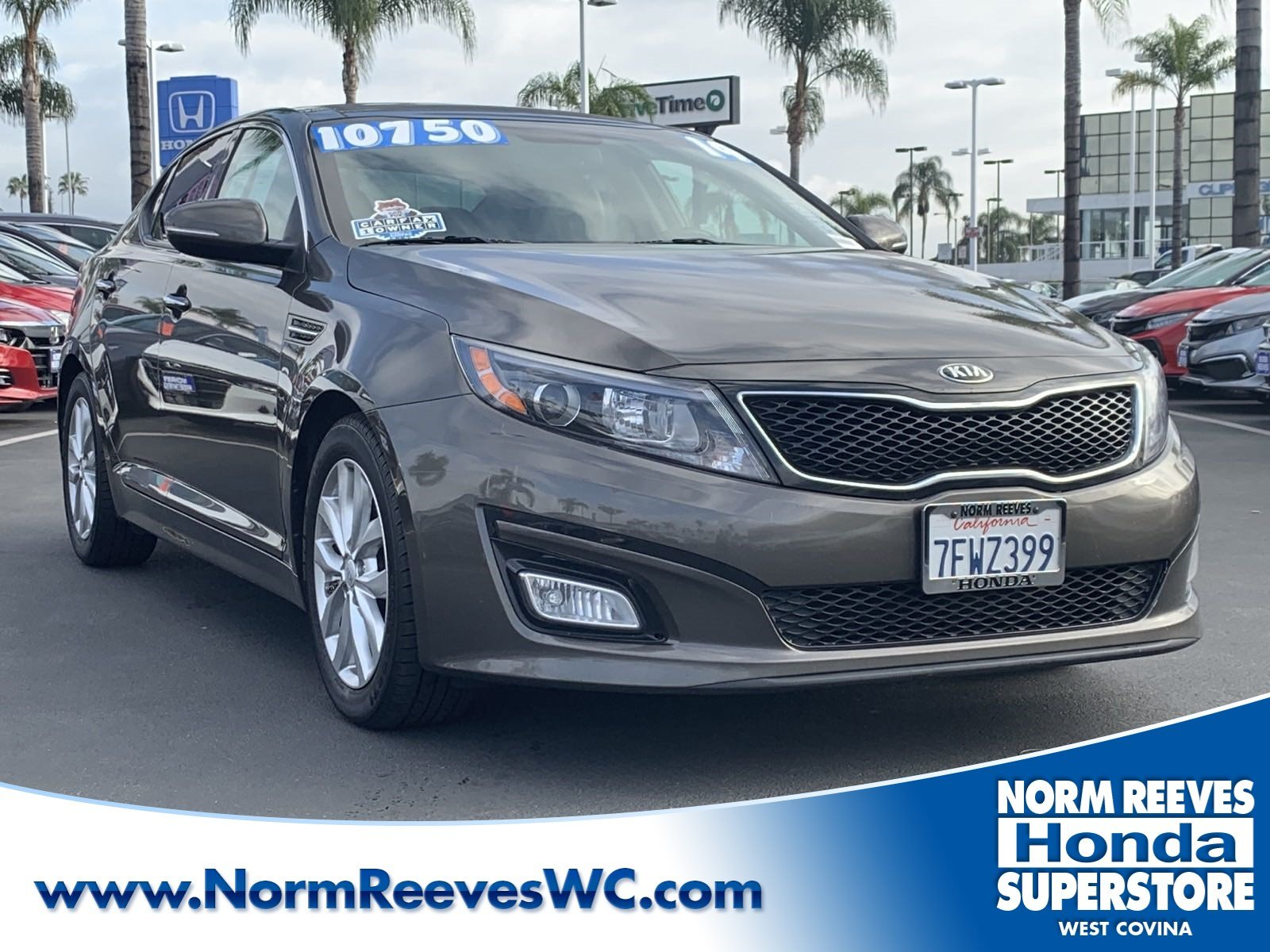 Pre Owned 2014 Kia Optima EX 4dr Car in West Covina