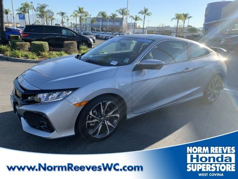Certified Pre-Owned 2018 Honda Civic Si Coupe Si